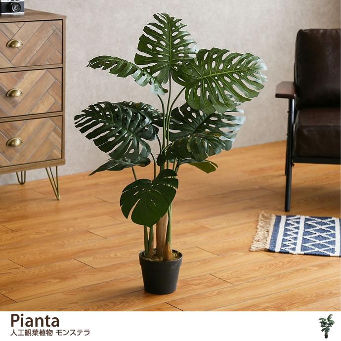 観葉植物Pianta 人工観葉植物 モンステラ