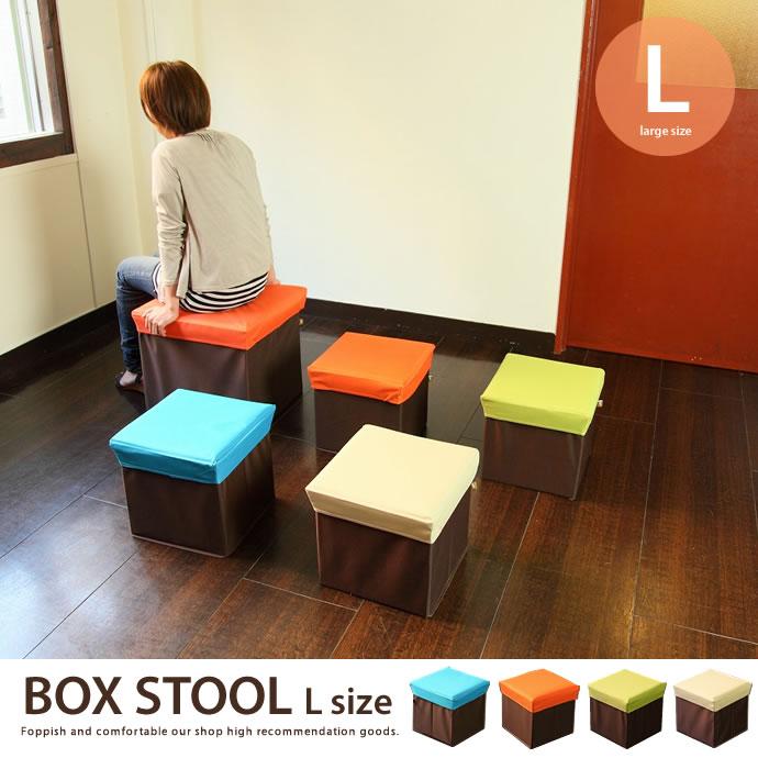 BOX STOOL Lサイズ