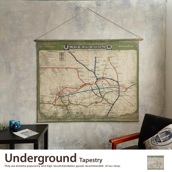 アートポスターUnderground Tapestry