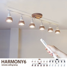 Harmony 6 remote ceiling lamp (白熱球付属)