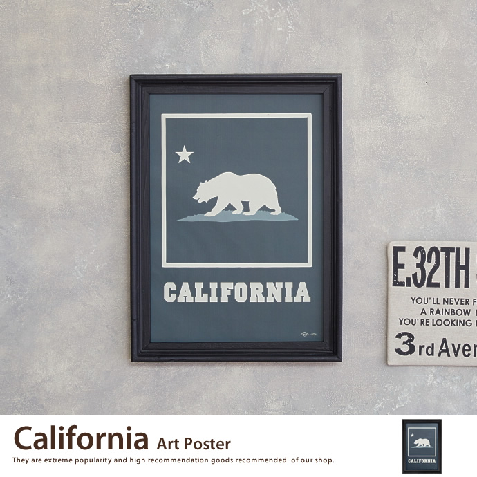 アートポスターCalifornia Art Poster