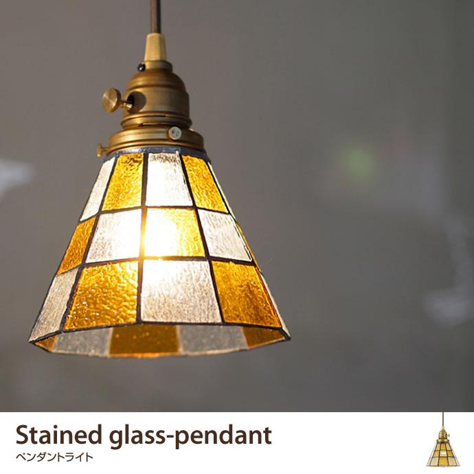 ペンダントライトStained glass-pendant ペンダントライト