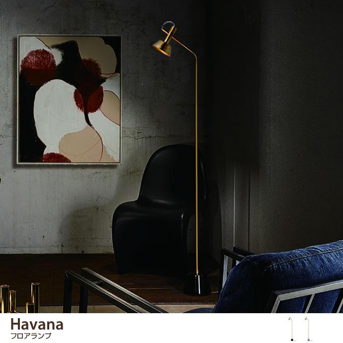 フロアライトHavana フロアランプ