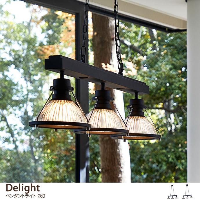 【3灯タイプ】 Delight ペンダントライト