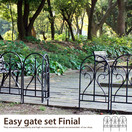 Easy gate set Finial