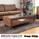 ガラステーブルBrezza 120テーブル