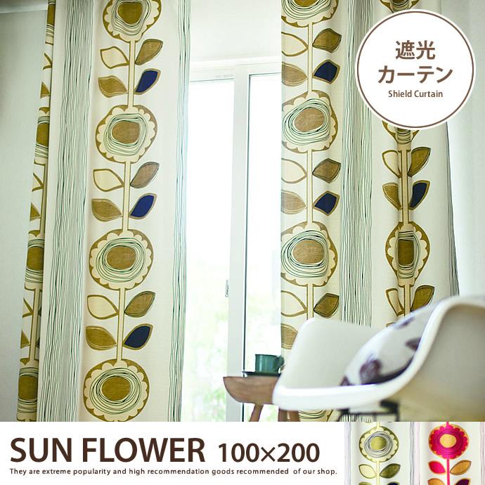 SUN FLOWER 100×200 【1枚】