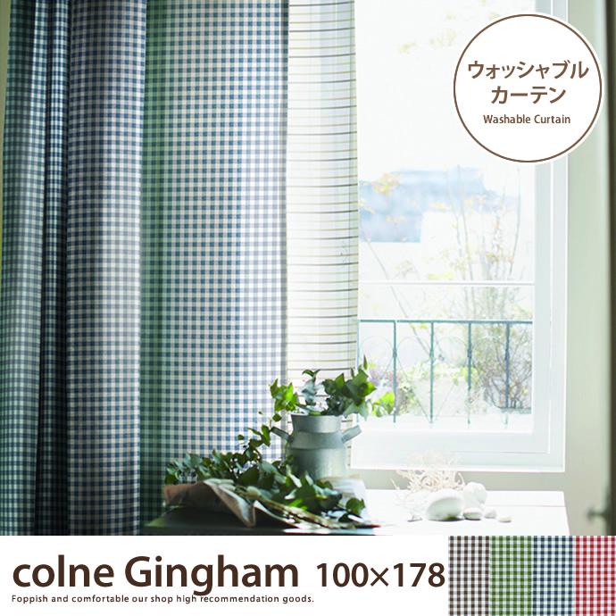 colne Gingham 100×178 【1枚】