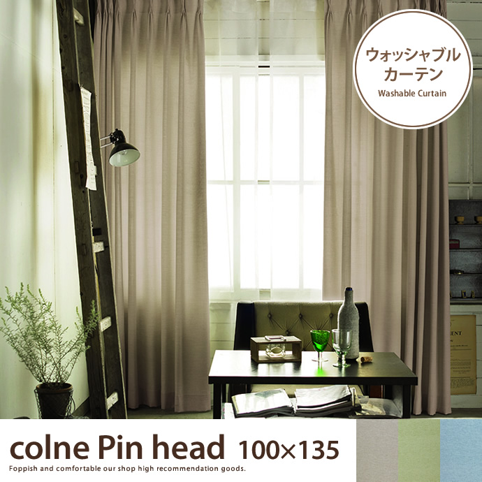 colne Pin head 100×135 【1枚】